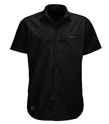 Camisa Algodão Flamê - All Black