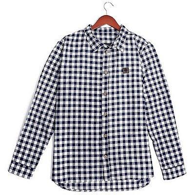 Camisa Flanela Manga Longa - Xadrez Classic