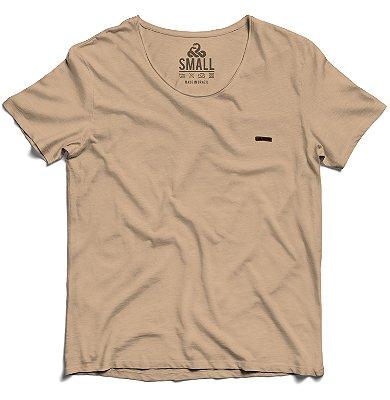 Camiseta Tingida Básica Algodão 30.1 LaVíbora - Creme
