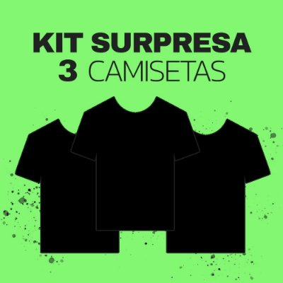 Box Surpresa BLACK FRIDAY LaVíbora - 3 Camisetas