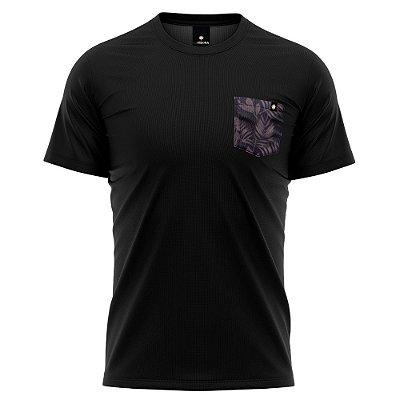 Camiseta Bolso Estampado LaVíbora - Folhagem Inverno