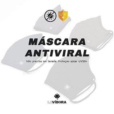 4 Máscaras de Tecido Antiviral Com Elasticidade LaVibora - Escolha 2 pares de cor