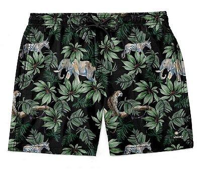 Shorts Praia Masculino Estampado LaVíbora - Amazônia