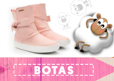 Campanha: + Sheep + Desconto - Botas