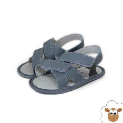 Sandália - Kea - Azul bebê - Velcro