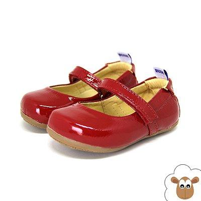 Sapatilha - Sheep Shoes - Vermelha - Verniz
