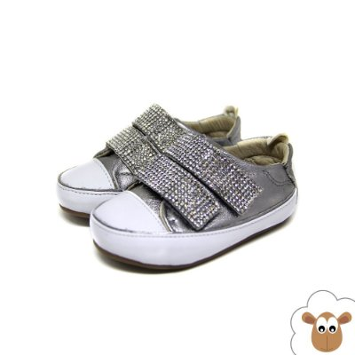 Tênis Infantil - Gambo - Prata velho - Velcro - Baby