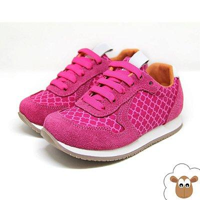 Tênis Infantil Jogging Sheep Shoes Pink
