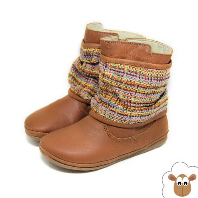 Bota infantil Tip Toey Joey Little Drape Burnig Wood