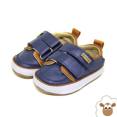 Tênis Infantil Gambo Azul Marinho Velcro