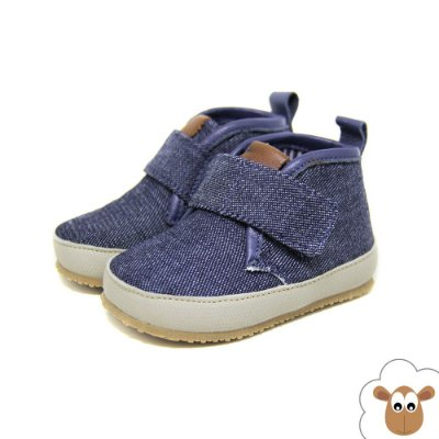 Bota Infantil Sheep Shoes Jeans Dark