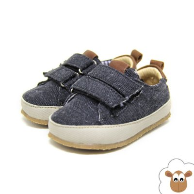 Tênis Infantil Sheep Shoes Preto Velcro