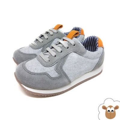 Tênis Infantil Jogging Sheep Shoes Cinza