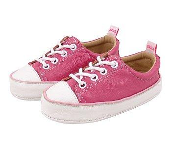 Tênis Infantil Catz Noddy Cadarço Pink e Branco