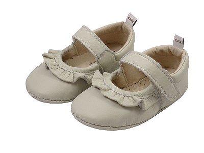 Sapatilha Infantil Catz Charlotte Marfim
