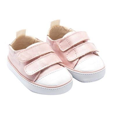 Tênis Infantil Sheep Shoes by Gambo Gliter algodão doce Newborn
