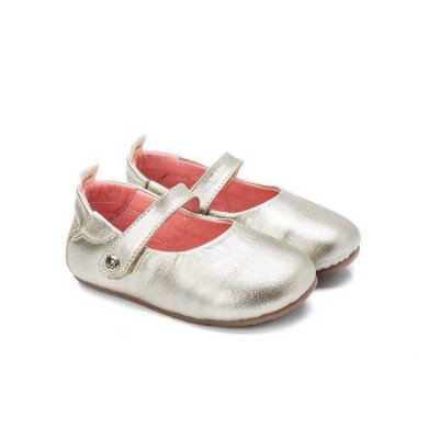 Sapatilha infantil Sheep Shoes by Gambo Ouro Light