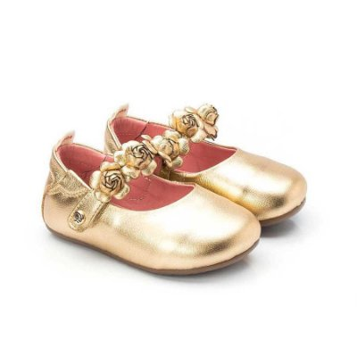 Sapatilha infantil Sheep Shoes by Gambo Dourado