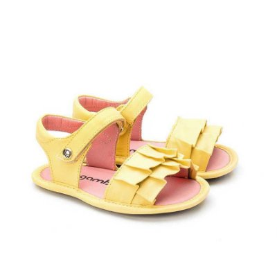 Sandália Infantil Sheep Shoes by Gambo Mellow (Amarelo)