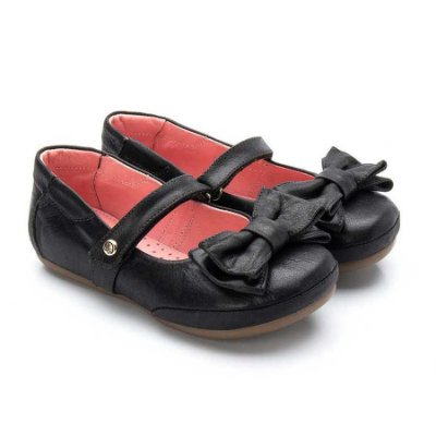 Sapatilha infantil Sheep Shoes by Gambo Cristal Preto