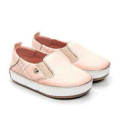 Tênis Iate infantil Gambo Blush (rosa bebê)