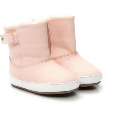Bota Infantil Gambo Pelo Blush (rosa bebê)