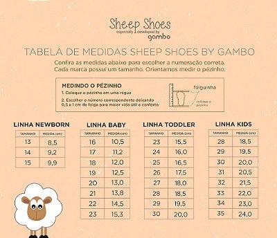 Bota infantil Gambo Estrela Macadamia e Chocolate