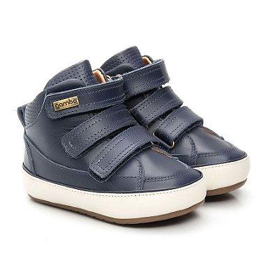 Bota infantil Gambo Velcros Cobalto