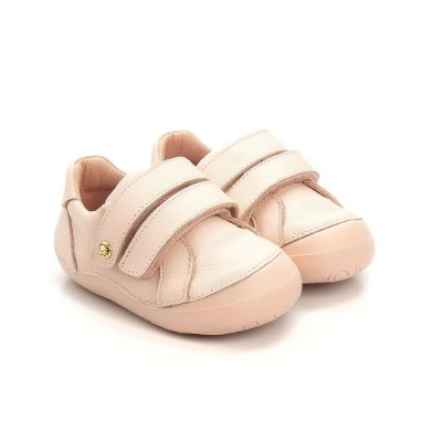 Tênis infantil Gambo Blush, Ouro Light e Poppy