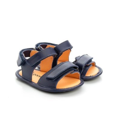 Sandália infantil Gambo Cobalto e Trigo