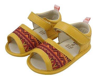 Sandália Infantil Catz Lolla Hippie Amarelo