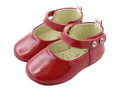 Sapatilha Infantil Catz Marie Vermelha Verniz