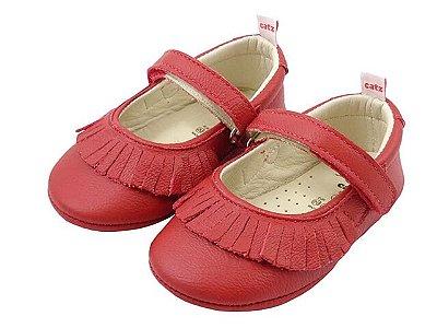 Sapatilha Infantil Catz Melany Vermelha