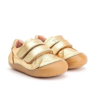 Tênis Infantil Gambo New Step Pimenta e Ouro