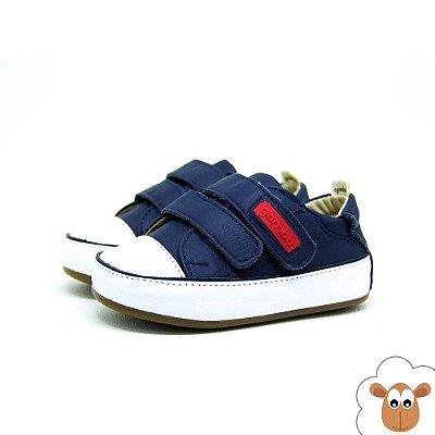 Tênis - Gambo - Navy - Velcro