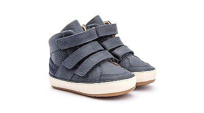 Bota Infantil Gambo Baby Velcros Azul Marinho