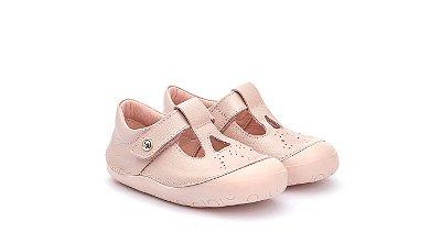 Sapatilha Infantil New Step rosa