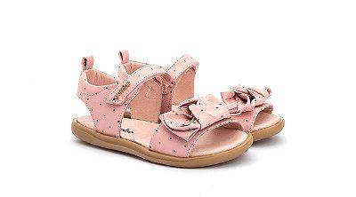 Sandalia infantil gambo toddler rosa