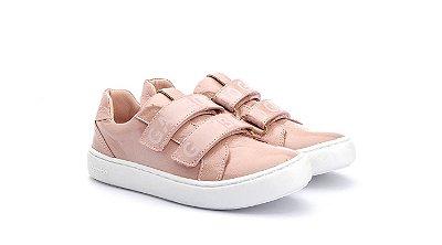 Tenis infantil gambo toddler/kids velcros rosa