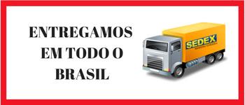 Entregamos em todo o Brasil