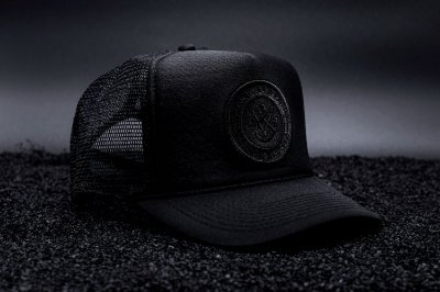 All Black Trucker Cap