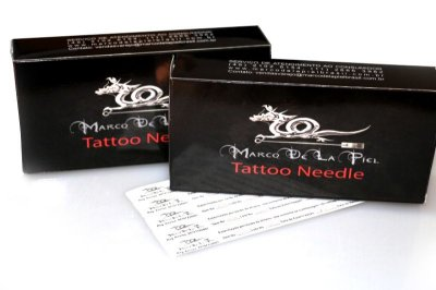Agulha para Tatuagem RL - Traço - Marco de La Piel