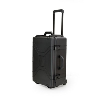 Maleta XGG Preta resistente a água e choque com rodinha - MP0060