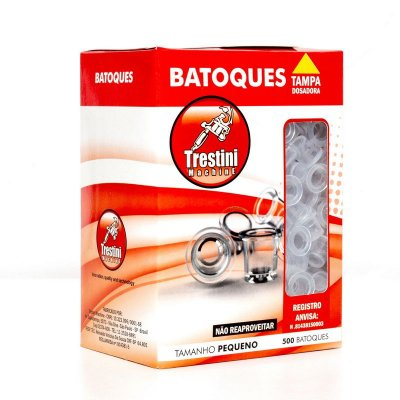Batoque Solto P - Caixa com 500 und