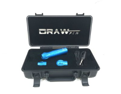DRAW PEN AZUL - Case + RCA + 3 GRIPPS