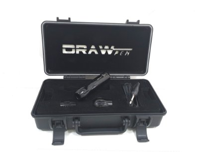 Draw Pen Preto - Case + RCA + 3 Gripps