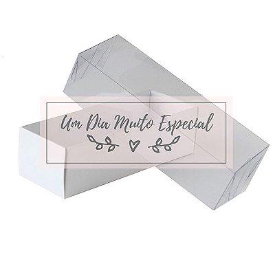 Caixa de Acetato e Papel 13,5 x 4x5 x 3,5