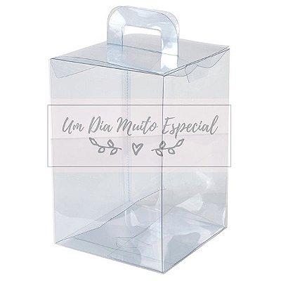 Caixa de Acetato Maleta 18x12,5x12,5