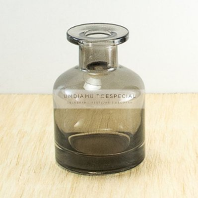 Frasco Aromatizador Vidro Fumê 150ml