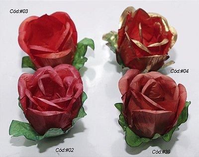 Rosa Rainha Tons Vermelhos